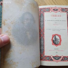 Libros antiguos: OBRAS COMPLETAS DE D. ADELARDO LÓPEZ DE AYALA. TEATRO I, MADRID. 1881. IMPRENTA DE A. PÉREZ DUBRULL. Lote 239368030