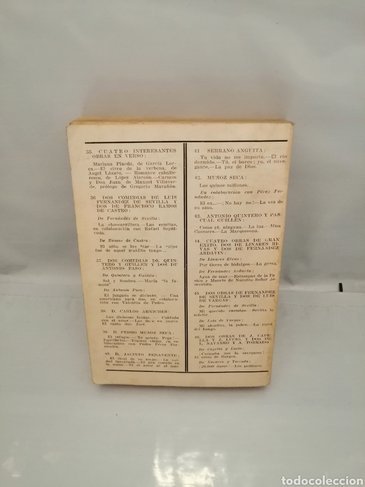 Libros antiguos: UN SOLO TOMO con 2 obras de Manuel Linares Rivas y 2 de Luis Fernández Ardavín (ver descripción) - Foto 2 - 241224585
