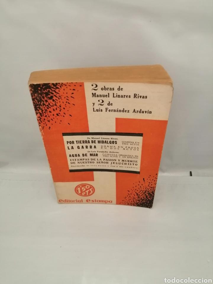 UN SOLO TOMO CON 2 OBRAS DE MANUEL LINARES RIVAS Y 2 DE LUIS FERNÁNDEZ ARDAVÍN (VER DESCRIPCIÓN) (Libros antiguos (hasta 1936), raros y curiosos - Literatura - Teatro)