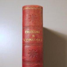 Libros antiguos: CALDERÓN - ECHEGARAY - GARCÍA GUTIERREZ, ETC. - SIETE OBRAS DE TEATRO ESPAÑOLAS - BARCELONA-MADRID. Lote 241691160