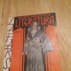 Libros antiguos: LA FARSA, LITERATURA, JACINTO BENAVENTE 1-7-1933 Nº 303 AÑO VII. Lote 241768400