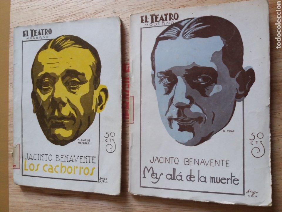 LOTE O SUELTOS - EL TEATRO MODERNO - JACINTO BENAVENTE - 197, 204 (Libros antiguos (hasta 1936), raros y curiosos - Literatura - Teatro)