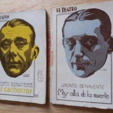 Libros antiguos: LOTE O SUELTOS - EL TEATRO MODERNO - JACINTO BENAVENTE - 197, 204. Lote 242834100