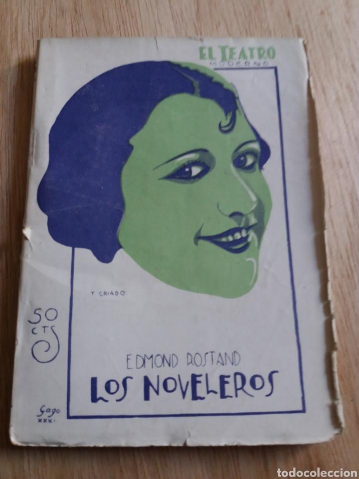 EL TEATRO MODERNO - EDMOND ROSTAND - 329 LOS NOVELEROS (Libros antiguos (hasta 1936), raros y curiosos - Literatura - Teatro)