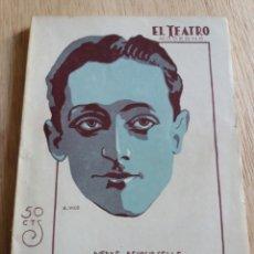 Libros antiguos: EL TEATRO MODERNO - PIERRE DECOURCELLE - LOS DOS PILLETES 314. Lote 242835685
