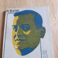 Libros antiguos: EL TEATRO MODERNO - FEDERICO OLIVER - LOS SEMIDIOSES 299. Lote 242835775