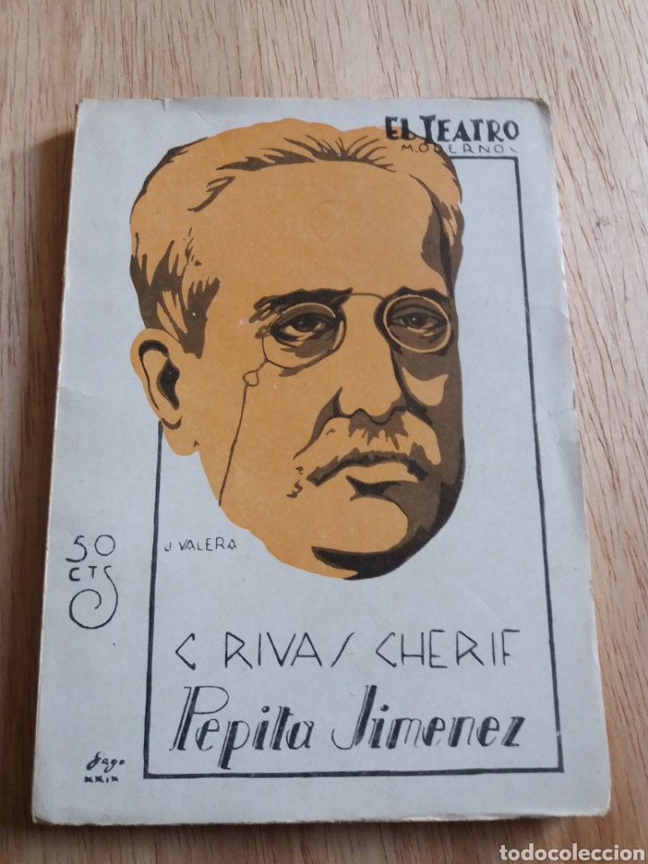 EL TEATRO MODERNO - RIVAS CHERIF - PEPITA JIMENEZ 183 (Libros antiguos (hasta 1936), raros y curiosos - Literatura - Teatro)