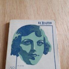 Libros antiguos: EL TEATRO MODERNO - SEVILLA CARREÑO - LA LEY SECA 285. Lote 242836520