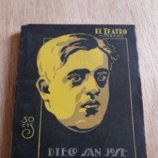 Libros antiguos: EL TEATRO MODERNO - DIEGO SAN JOSE - LA ILUSTRE FREGONA 156. Lote 242836620