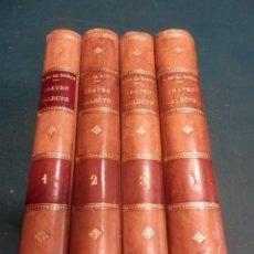 Libros antiguos: TEATRO SELECTO DE CALDERÓN DE LA BARCA - 4 TOMOS - LIBRERÍA DE PERLADO, PÁEZ Y Cª AÑO 1910. Lote 243156645