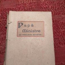 Libros antiguos: ANTIGUO LIBRO DE GEROLAMO ROVETTA PAPÀ MINISTRE (1908) CATALÀ. Lote 243423055