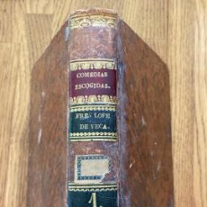 Livros antigos: COMEDIAS ESCOGIDAS - LOPE FELIX DE VEGA CARPIO - TOMO PRIMERO - 1826. Lote 243980830
