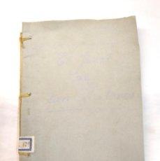 Libros antiguos: EL JANOT DE CAN LLATENES ANY 47 ORIGINAL OBRA TEATRE ESCRITA PROGRAMA PARROQUIAL SAN FELIU LLOBREGAT. Lote 244823320