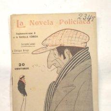 Libros antiguos: JACK BRISQUET O LA NOVELA DE UN NIÑO LA NOVELA POLICÍACA Nº 101 AÑO 1918. Lote 244827950