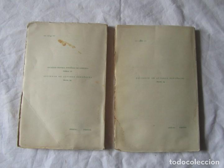 Libros antiguos: 2 obras de teatro, El Rinconcito + El peligro rosa, 1932, Serafín y Joaquín Álvarez Quintero - Foto 3 - 244839120