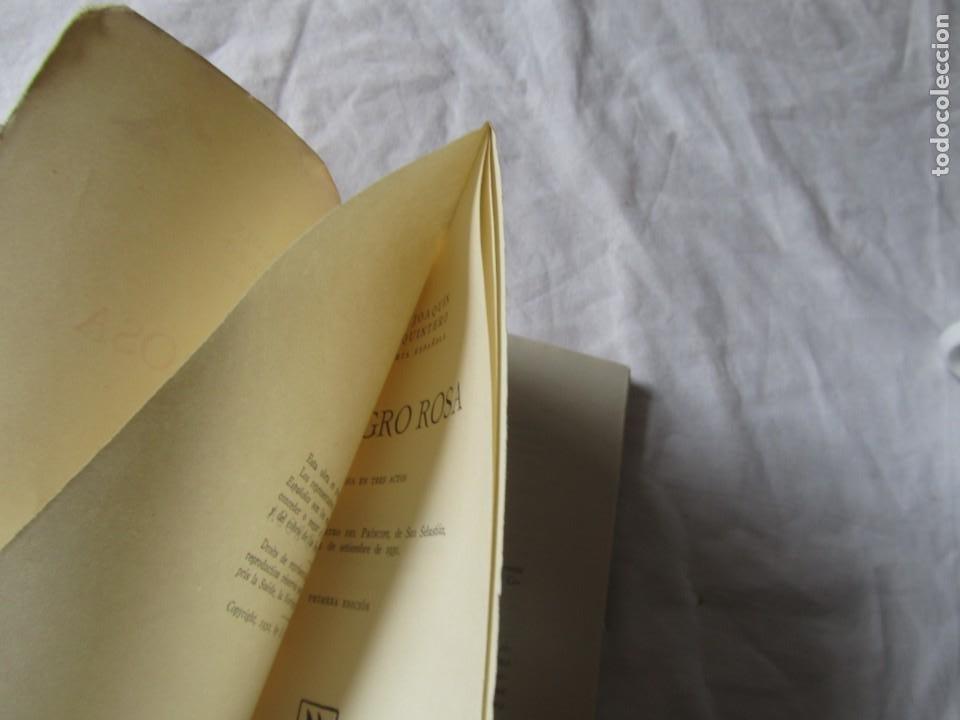 Libros antiguos: 2 obras de teatro, El Rinconcito + El peligro rosa, 1932, Serafín y Joaquín Álvarez Quintero - Foto 7 - 244839120
