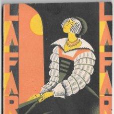 Libros antiguos: LAS HILANDERAS - FEDERICO OLIVER - LA FARSA 75. Lote 246602495