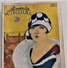 Libros antiguos: LO QUE ESTÁ DE DIOS - PEDRO MATA - LA NOVELA MUNDIAL Nº 92 - AÑO 1927. Lote 247259010