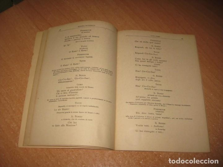 Libros antiguos: MADAMA BUTTERFLY - Foto 6 - 201154126