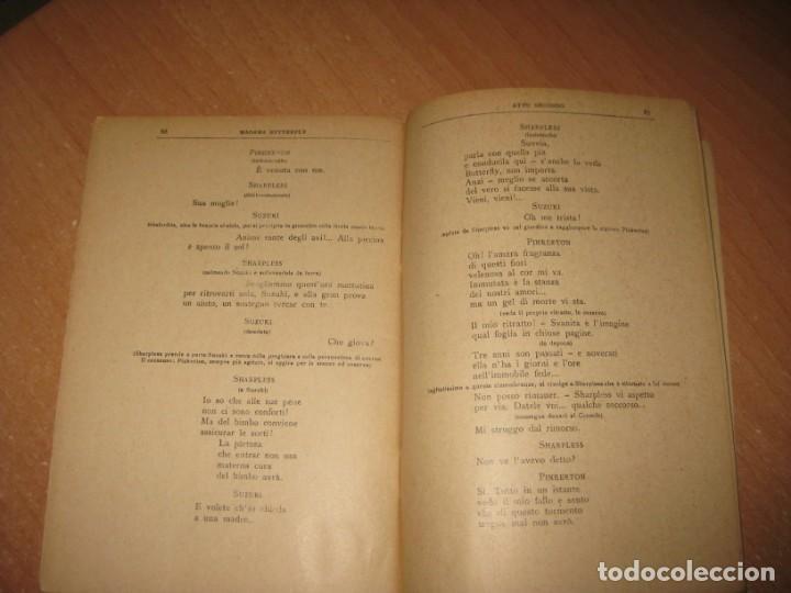 Libros antiguos: MADAMA BUTTERFLY - Foto 7 - 201154126