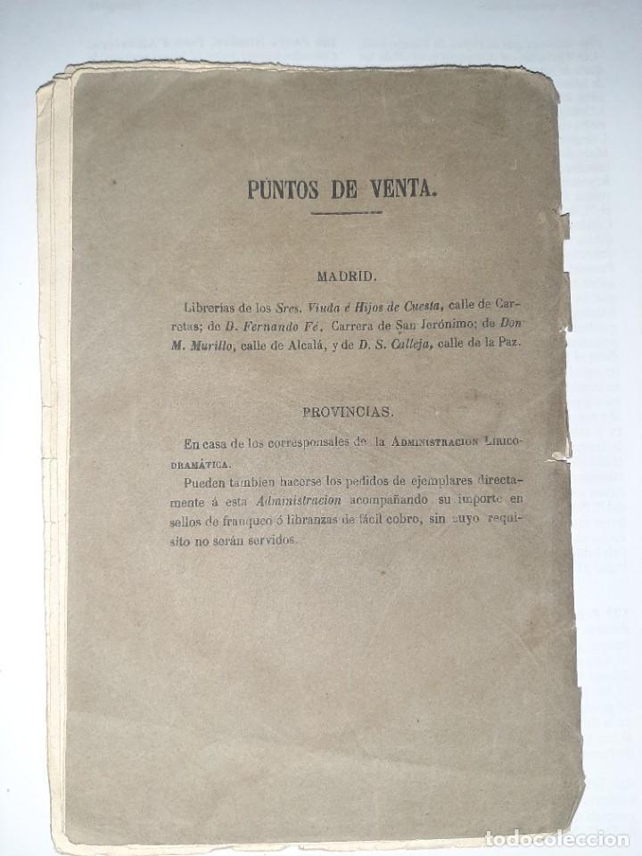 Libros antiguos: Mariano BARRANCO. R. R. Juguete cómico-lírico. 1.ª ed. Música de CHUECA y VALVERDE. Madrid, 1880. - Foto 4 - 249176570