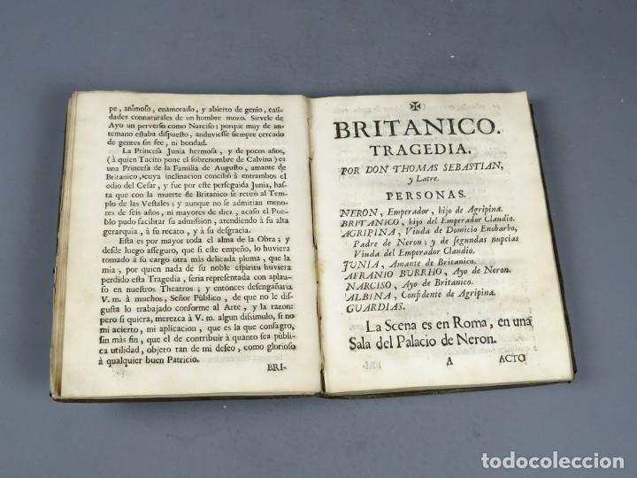 Libros antiguos: BRITANICO - TRAGEDIA - JUAN RACINE - ZARAGOZA 1764 - Foto 3 - 250227790