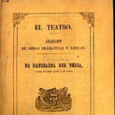 Libros antiguos: LUIS DE EGUILAZ : EL PATRIARCA DEL TURIA (1858) DRAMA DE VALENCIA. Lote 252533175