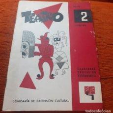 Libros antiguos: CUADERNO DE TEATRO DE 1959. Lote 253477205