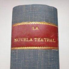 Libros antiguos: LA NOVELA TEATRAL 1920 - PRIMER SEMESTRE - 26 EJEMPLARES, NÚMEROS 160 A 185. Lote 253809935