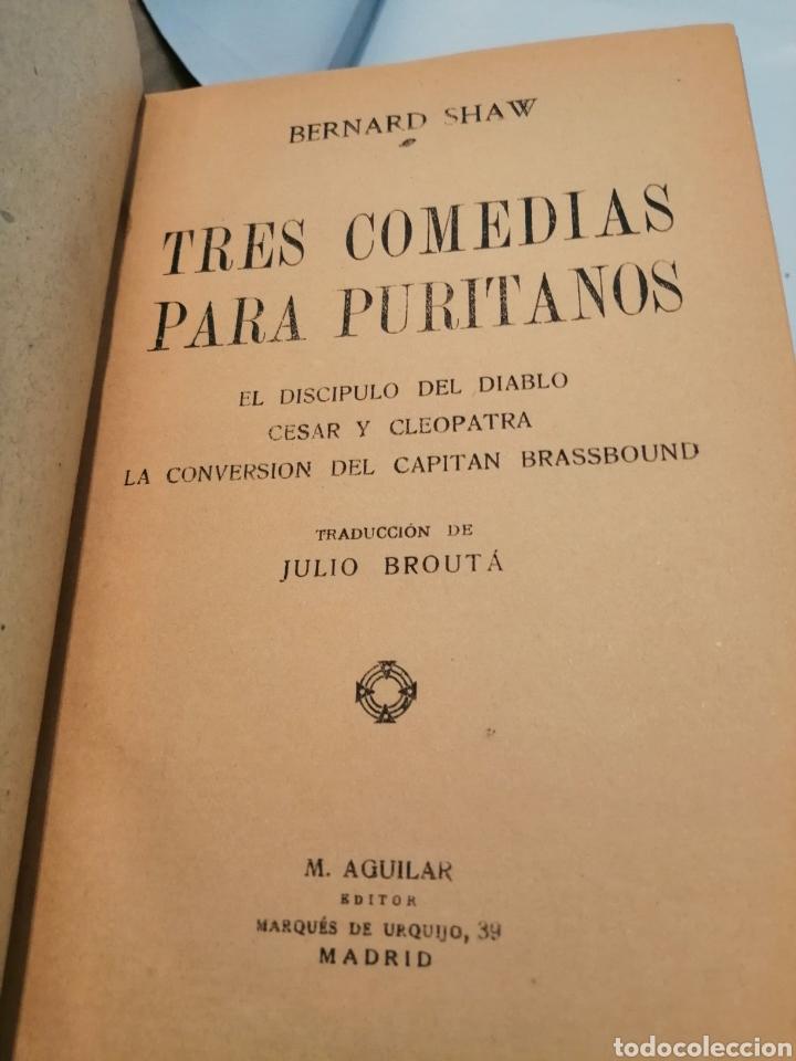 Libros antiguos: EL DISCÍPULO DEL DIABLO/CÉSAR Y CLEOPATRA/LA CONVERSIÓN DEL CAPITÁN BRASSBOUND (RETAPADO TAPA DURA) - Foto 5 - 256126840