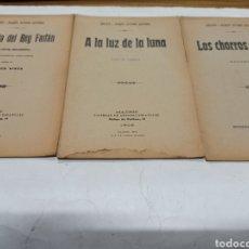 Libros antiguos: LOTE DE 20 OBRAS DE SERAFIN Y JOAQUIN ALVAREZ QUINTERO 17 EN PRIMERA EDICION ENTRE 1898 Y 1912. Lote 259279830