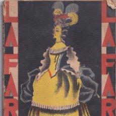 Libros antiguos: ADÁN Y EVA - PILAR MILLAN ASTRAY - LA FARSA 1929. Lote 260859785