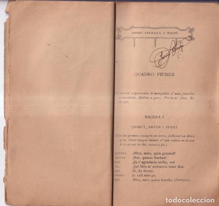 Libros antiguos: LO FLUVIOL MAGIC - JOSEP CIURANA I MAIJÓ - REUS, 1914 - Foto 2 - 261241345