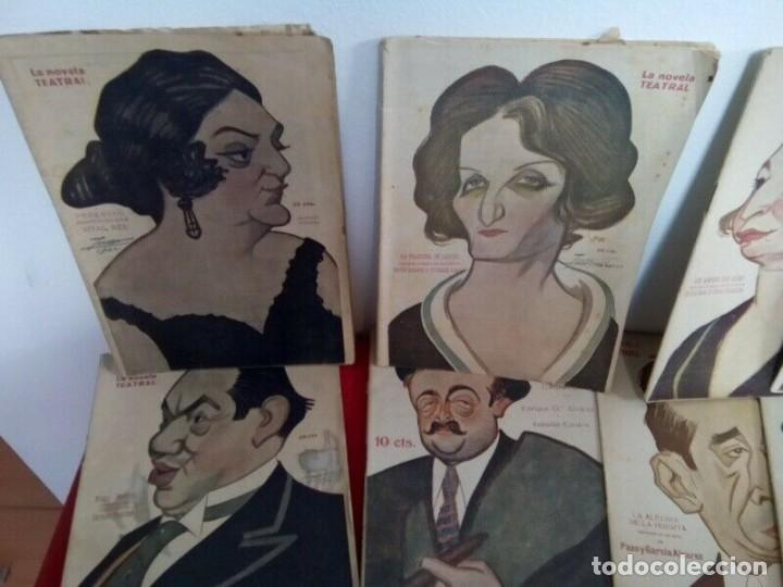 "Libros antiguos: COLECCION ""LA NOVELA TEATRAL"" 1917 17 REVISTAS DIFERENTES FIRMADAS POR TOVAR - Foto 2 - 261800055"