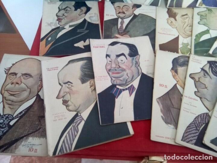 "Libros antiguos: COLECCION ""LA NOVELA TEATRAL"" 1917 17 REVISTAS DIFERENTES FIRMADAS POR TOVAR - Foto 3 - 261800055"