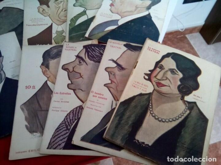 "Libros antiguos: COLECCION ""LA NOVELA TEATRAL"" 1917 17 REVISTAS DIFERENTES FIRMADAS POR TOVAR - Foto 4 - 261800055"