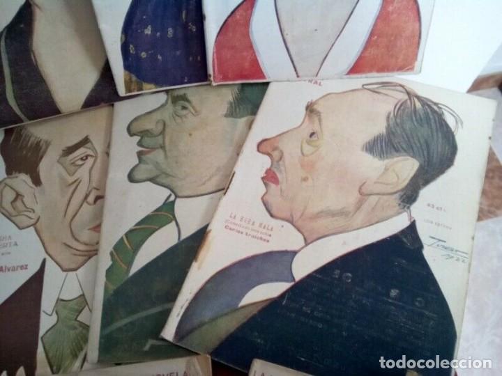 "Libros antiguos: COLECCION ""LA NOVELA TEATRAL"" 1917 17 REVISTAS DIFERENTES FIRMADAS POR TOVAR - Foto 5 - 261800055"