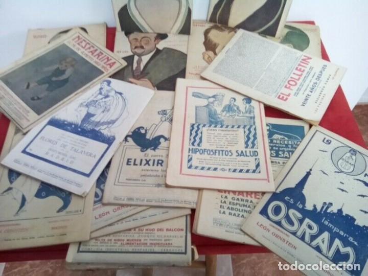 "Libros antiguos: COLECCION ""LA NOVELA TEATRAL"" 1917 17 REVISTAS DIFERENTES FIRMADAS POR TOVAR - Foto 7 - 261800055"