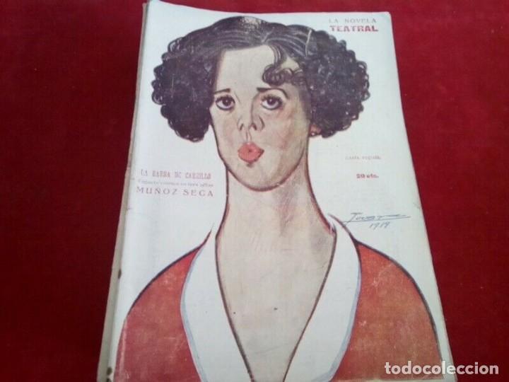 "Libros antiguos: COLECCION ""LA NOVELA TEATRAL"" 1917 17 REVISTAS DIFERENTES FIRMADAS POR TOVAR - Foto 8 - 261800055"