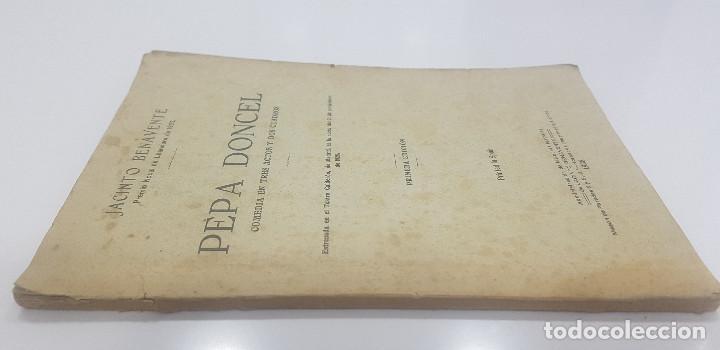 Libros antiguos: Pepa Doncel - Jacinto Benavente - Primera edición - 1928 - Foto 5 - 262083625