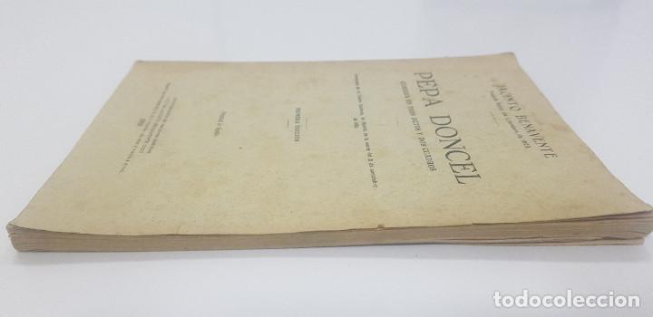 Libros antiguos: Pepa Doncel - Jacinto Benavente - Primera edición - 1928 - Foto 6 - 262083625