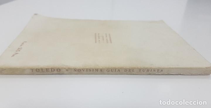 Libros antiguos: TOLEDO. NOVÍSIMA GUÍA DEL TURISTA. Angel Cantos Tendero. Planos desplegables, fotos, mapas - Foto 4 - 262090005