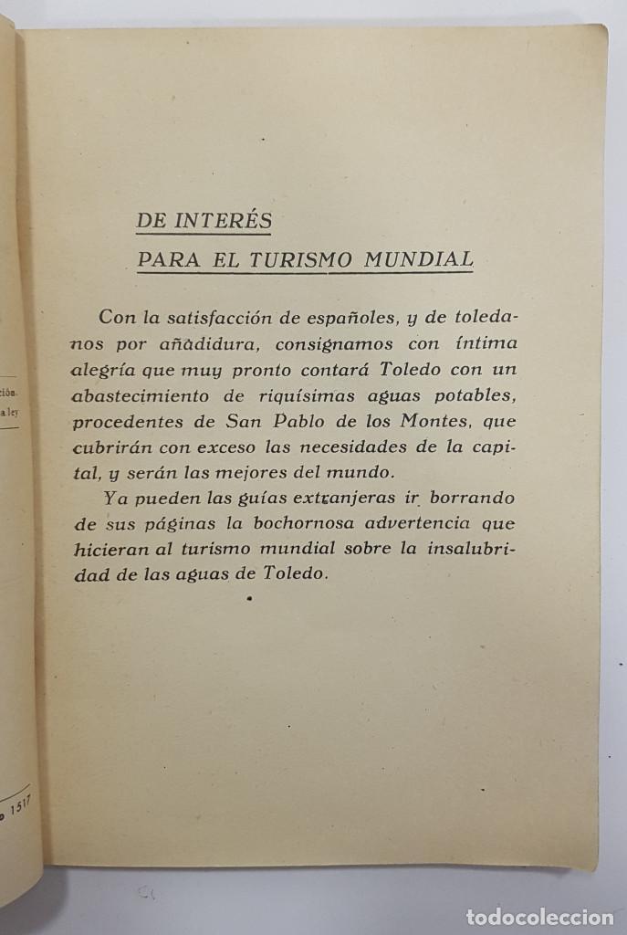 Libros antiguos: TOLEDO. NOVÍSIMA GUÍA DEL TURISTA. Angel Cantos Tendero. Planos desplegables, fotos, mapas - Foto 6 - 262090005