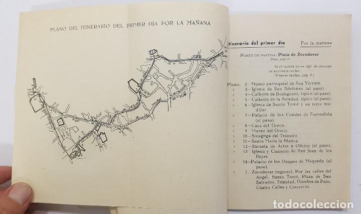 Libros antiguos: TOLEDO. NOVÍSIMA GUÍA DEL TURISTA. Angel Cantos Tendero. Planos desplegables, fotos, mapas - Foto 7 - 262090005