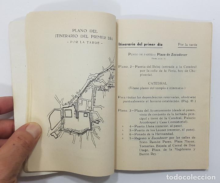 Libros antiguos: TOLEDO. NOVÍSIMA GUÍA DEL TURISTA. Angel Cantos Tendero. Planos desplegables, fotos, mapas - Foto 11 - 262090005