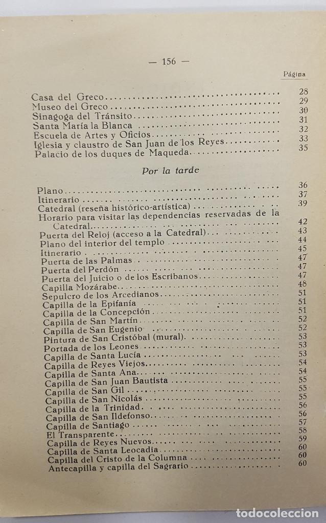 Libros antiguos: TOLEDO. NOVÍSIMA GUÍA DEL TURISTA. Angel Cantos Tendero. Planos desplegables, fotos, mapas - Foto 15 - 262090005