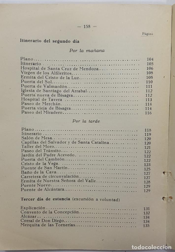 Libros antiguos: TOLEDO. NOVÍSIMA GUÍA DEL TURISTA. Angel Cantos Tendero. Planos desplegables, fotos, mapas - Foto 17 - 262090005