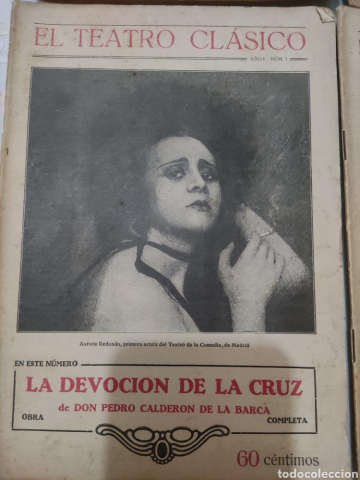 Libros antiguos: El Teatro Clásico......8 ejemplares. - Foto 2 - 262440370