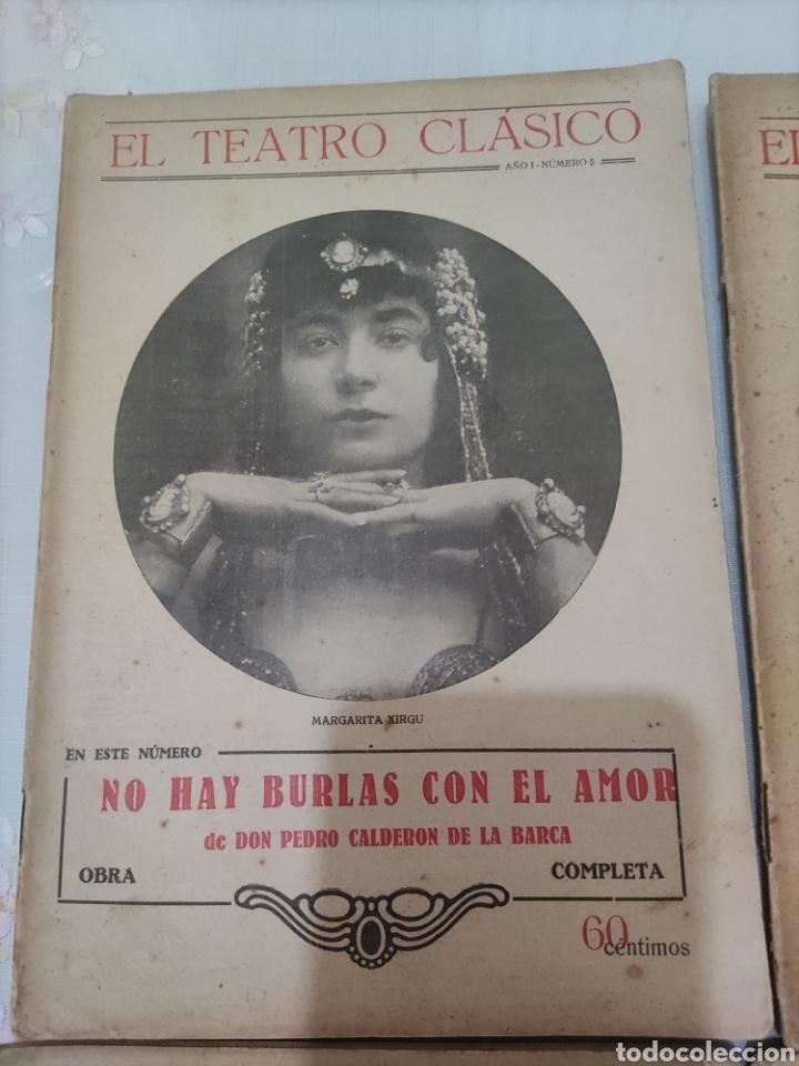 Libros antiguos: El Teatro Clásico......8 ejemplares. - Foto 3 - 262440370