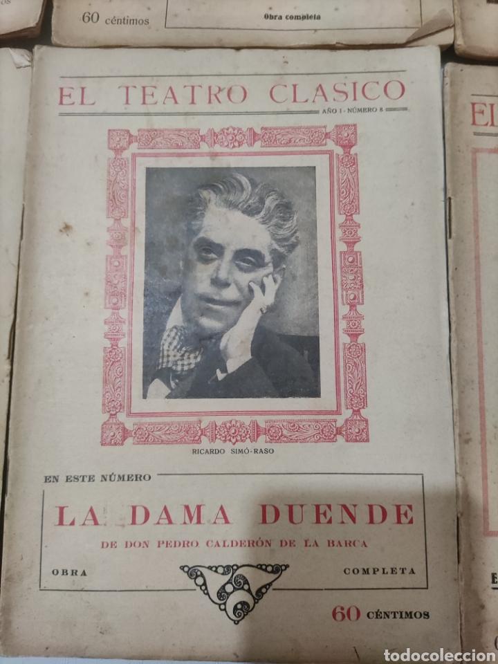 Libros antiguos: El Teatro Clásico......8 ejemplares. - Foto 4 - 262440370